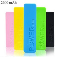 Wholesale 2600mAh perfume mini Power Bank universal USB External Backup Battery for all mobile phone iPhone samsung htc ect cell phone
