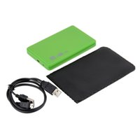 Wholesale New USB Mbps Enclosure Case Box for Laptop quot SATA Hard Drive est Hot Promotion