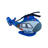 airplane blue print - cartoon Helicopter toys for kids boys lifelike high quality airplane doll CM blue cartoon printed boys toy unique gifts cute