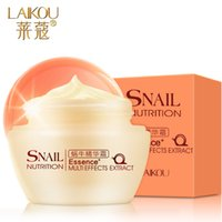 Wholesale Snail cream cream g moisturizing water control oil skin care products