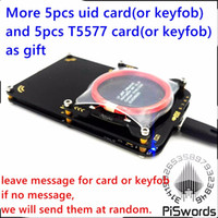 Wholesale latest proxmark3 develop suit Kits proxmark NFC RFID reader writer SDK UID T5577 changeable card copier clone crack