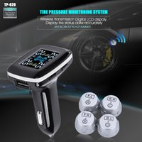 Wholesale TP620 Digital Tire Pressure Monitoring System V Real Time Professional Wireless Smart TPMS Tire Pressure Alarm Car Charger