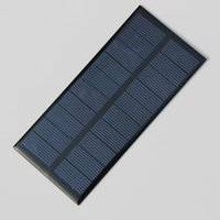 Wholesale 1 W V Polycrystalline Epoxy Solar Panel Solar Cell DIY Solar Charger For V Battery Education Kits MM