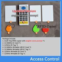 Wholesale Upgrade Khz MHZ frequecny RFID Duplicator Copier Writer KHZ cards MHZ IC UID card