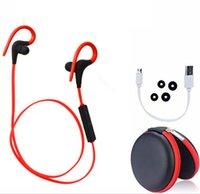 Microphone apple wireless audio - Q10 Wireless Sports Stereo Sweatproof Bluetooth Earphone Headphone Earbuds Balanced Audio Buil in Mic Noise Cancelling