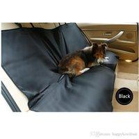 Чехлы для сидений для домашних животных Цены-Мягкие большие кровати для собак Двойная сторона Водонепроницаемая защитная задняя подушка для сидения собаки для собак Pet водонепроницаемая крышка