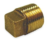 Wholesale Red Brass Cored Plug NPT Thread quot Pipe Fittings from China factory