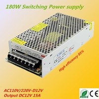 aluminum industries - Aluminum Shell DC12V A Switch Power Supply AC110V V to DC12V W Driver Transformer for Industry Equipments LED Lights LED Display