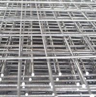 Wholesale Galvanized Welded Wire Mesh x3 Galvanized Cattle Welded Wire Mesh Panel Standrad Low Carbon Steel Wire for Cages and Construction