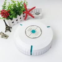 al por mayor aspirar suelos más limpios-Mini robots de limpieza portátil inteligente Sweeper Floor aspirador Lazy inteligente máquina de limpieza automática de polvo de inducción DHL QT005 libre
