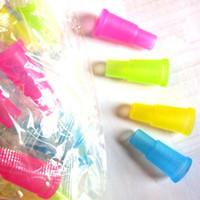 Hookah Shisha Test Finger Drip Tip Housse Capuchon 510 Bouchons en plastique à usage unique Bouts de bouche Sains pour E-Hookah Water Pipe Forfait individuel