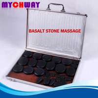 basalt uses - Hot Sell Pieces Pack Massage Stone Set Basalt Massage Stone Sets Hot Spa Rocks Home Use
