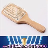 Wholesale Professinal New Anti static Comb Health Wood Massage Big Comb Hair Brush Classical Style Wooden Comb MYY
