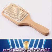 big hair comb - Professinal New Anti static Comb Health Wood Massage Big Comb Hair Brush Classical Style Wooden Comb MYY