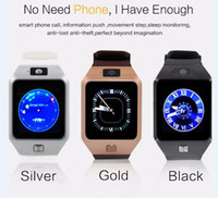 Wholesale DZ09 Smart Watch GT08 U8 A1 Wrisbrand Android Smart SIM Intelligent mobile phone watch can record the sleep state Smart watch Hot Selling