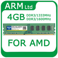 Wholesale PC3 DDR3 MHZ MHZ GB ram For AMD Desktop Memory Support dual channel Fast Shipping