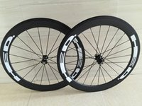 Wholesale 700c Road Racing Carbon Wheels mm Rims HED Road Bike mm Clincher Tubular Carbon wheelset