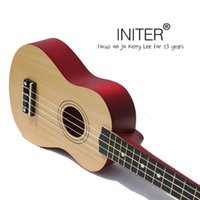 Wholesale Ukulele Beginners inch small guitar ukulele wood guitar mini instrument strings basswood soprano acoustic multi color optional play fol
