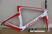 Precio de Marcos de carreras-Marco negro rojo de la bici del camino del marco del carbón de Cipollini NK1K T1000 1k o 3K que compite con el marco de la bicicleta que envía libremente Marcos de Mcipollini NK 1K