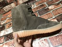best boot sole - Original quality Men casual ankle boots suede top MD sole champgane leather with zipper side best prices in the market