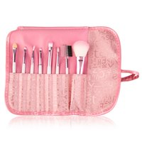 Wholesale Hot Selling Professional Pink Women Makeup Brush Set Cosmetic Brushes for Face And Eye Shadow Lady s Gift