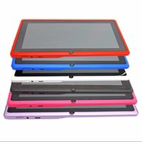 amd pc - Best Quality DHL Free7 inch Quad core android tablets pc allwinner A33 ROM GB Capacitive Screen x600 Dual camera WIFI AR6