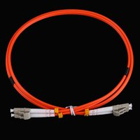Wholesale High Quality Fiber Optic Jumper Cable LC to LC Fiber Patch Cable Cord Duplex MM M mm LC LC Fiber Optic Equipment Accessories