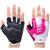 best mechanics gloves - Modern fitness glove Nice fingerless sport support mitten Woman gym training Good mitt Best palm protect