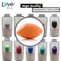 beauty egg - 10 Color Makeup Sponge Blender Foundation Powder Puff Flawless Cosmetic Puffs Makeup Tools Beauty Egg Techniques Facial Make Up Sponge