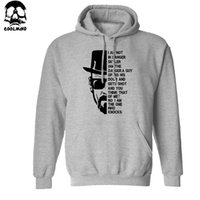 bad materials - Thick Material Top quality Breaking bad print men sweatshirt with hat heisenberg print cotton blend men hoodies
