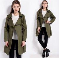 Wholesale Fashion Autumn Trench Coat Women Slim Outerwear Loose Coat Gabardina Mujer Long Winter Jacket Women Sobretudo