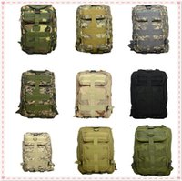 Wholesale Wholesle Men outdoor bags Camouflage bags Vintage Casual bags Sling tactical series Military Shoulder Bags Hiking Satchel A0433