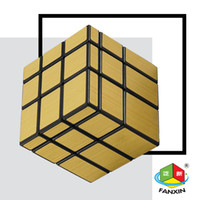Wholesale Fashionable Gold mirror Exquisite X3X3 mirror cube CM for gift and collection OEM SUPPORTED