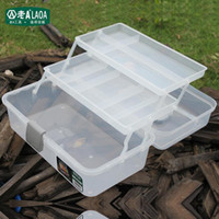 Wholesale inch all transparent color plastic PP tool cabinet box caja de herramientas portable fittings box household storage