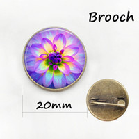 Children's beauty ball pins - Elegant and charming winter style Pink flower beauty and the beast rose brooch jewelry women yoga mandala lotus pins