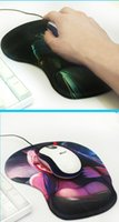 apple mouse support - Creative Silicon fabric Mouse pad for Apple MackBook Homelike with comfortable for using with special designed wrist support