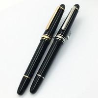 Wholesale Luxury MT Le Grand Rollerball pen Black pens precious resin with MB white star inlay serial number