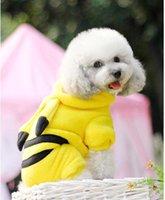 Одежда для собак падения одежды собаки Пикачу VIP любимчика одежды из четырех ног, чем у медведей щенки осенний наряд