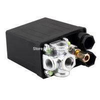 Valves air compressor control switch - High Quality Heavy Duty Air Compressor Pressure Switch Control Valve VAC PSI PSI DropShipping