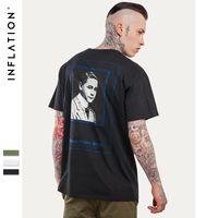 2016 новый летний знаменитости портрет прямой печати Мужские футболки рубашки моды оружие Graphic мужчины тройники Polos мужской размер одежды