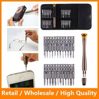 Wholesale 25 In Torx Screwdriver Set Mobile Phone Repair Tool Kit Multitool Hand Tools For Iphone Watch Tablet PC Herramientas