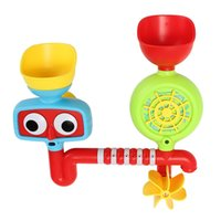 Wholesale Lovely Portable Bath Tub Toy Water Sprinkler System Children Kids Toy Gift Funny Bathing Toys Waterproof in Tub Baby Bath toys