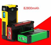 Wholesale New Car Jump Starter mAh V USB battery charger pack for auto vehicle starting Laptop Power Bank Compass SOS Lights