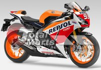 Wholesale Fairing For Honda CBR1000RR CBR RR Injection ABS Orange FA2131 Black FA2132 White FA2133