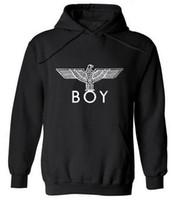 Wholesale boy london hoodie sweatshirt off white hoodies men women hip hop streetwear sweat veste eagle trasher hoodie