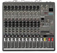 audio mixer dj - Professional Audio Mixer Channels Mixing Console YA1000 Mezcladora De DJ