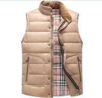 Wholesale New Arrival Autumn Winter Men s Down Light Jacket Warm Clothing Fashion Design Young Style Mens Casual Vest Hot Sale
