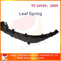 asia markets - Different Types of Man Truck Leaf Spring in Rear Suspension for Asia Market Automotive Leaf Springs