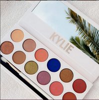 Wholesale Kylie Jenners color Eyeshadow palette with pen Cosmetics The new color Eyeshadow Palette Preorder Kyshadow