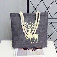 alphabet art prints - hot sale Art cartoon print canvas bag student shoulder bag handbag handbag alphabet canvas bag